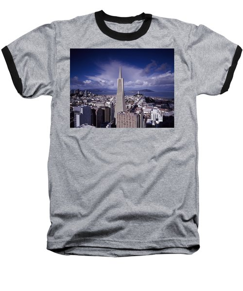 The Heart Of San Francisco Baseball T-Shirt