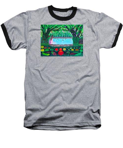The Hidden Water Baseball T-Shirt by Lorna Maza
