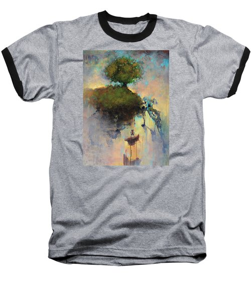 The Hiding Place Baseball T-Shirt by Joshua Smith