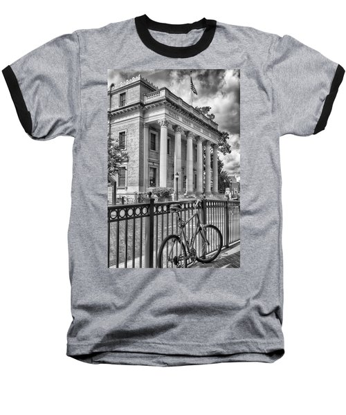 Baseball T-Shirt featuring the photograph The Hippodrome Theatre by Howard Salmon