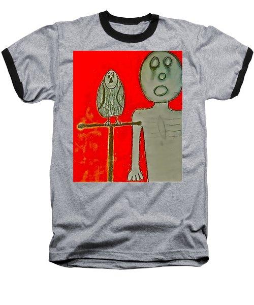 The Hollow Men 88 - Bird Baseball T-Shirt
