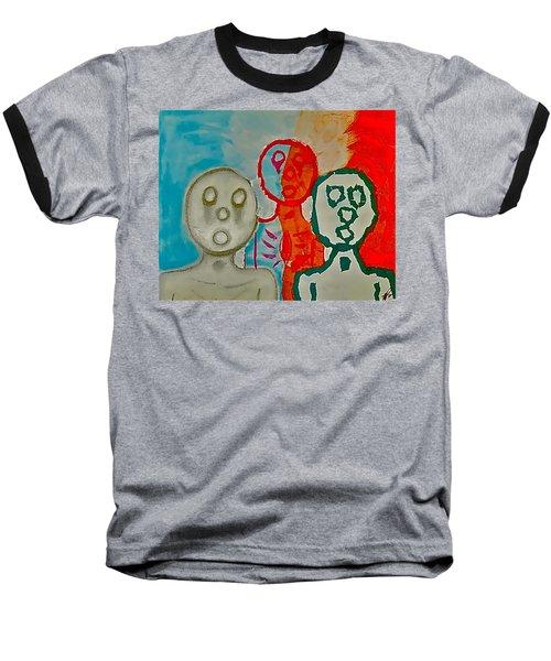 The Hollow Men 88 - Study Of Three Baseball T-Shirt