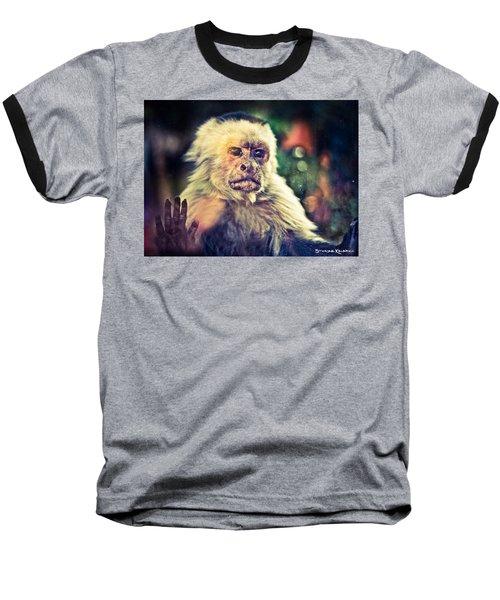 Baseball T-Shirt featuring the photograph The Hopeless Ape by Stwayne Keubrick