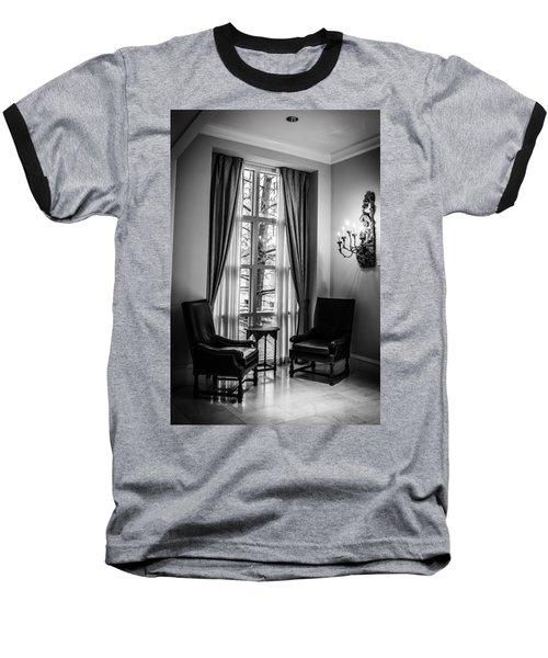 The Hotel Lobby Baseball T-Shirt