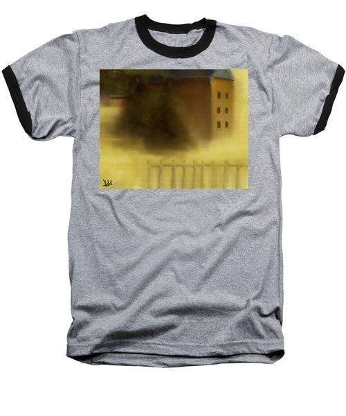 The House Beyond The Fence #c-2 Baseball T-Shirt