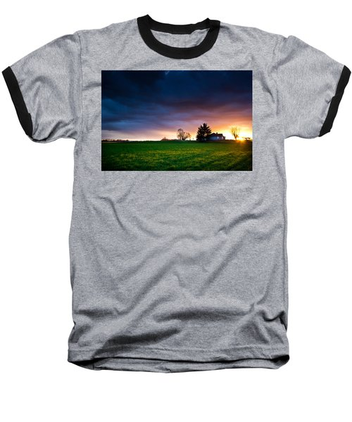 The House Of The Rising Sun Baseball T-Shirt by Eti Reid