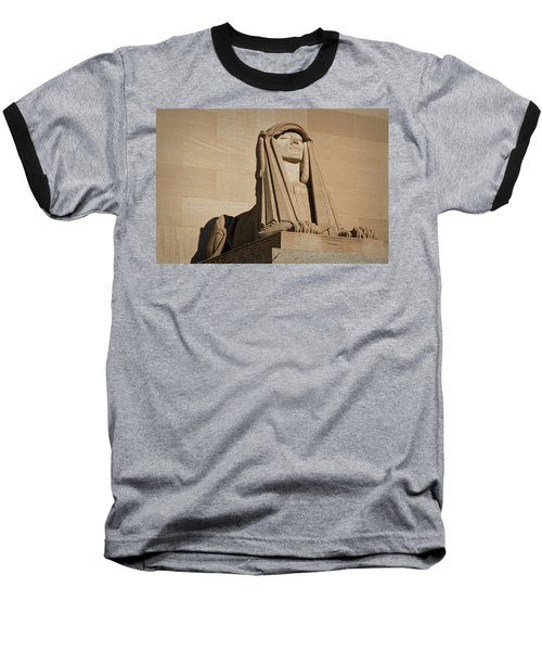 The House Of The Temple Sphinx #2 Baseball T-Shirt