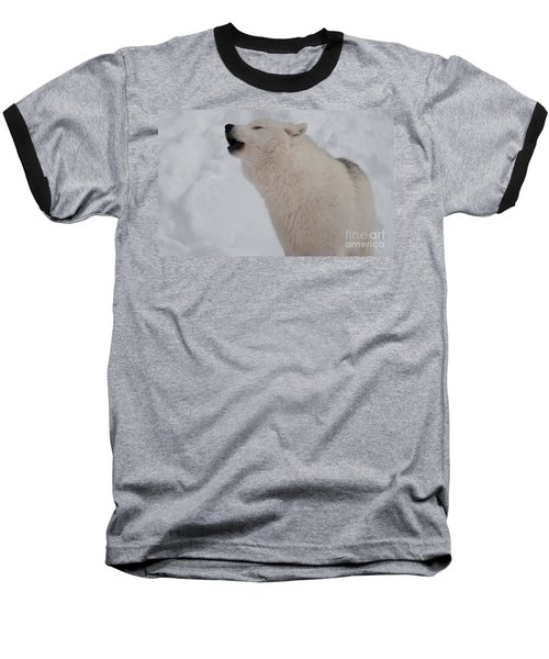 Baseball T-Shirt featuring the photograph The Howler by Bianca Nadeau