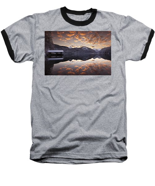 The Hut By The Lake Baseball T-Shirt