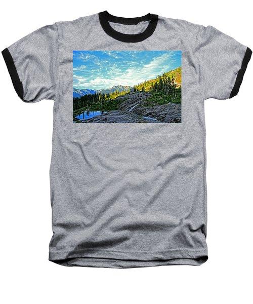 Baseball T-Shirt featuring the photograph The Hut. by Eti Reid