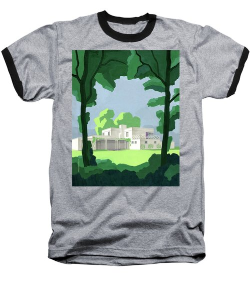The Ideal House In House And Gardens Baseball T-Shirt