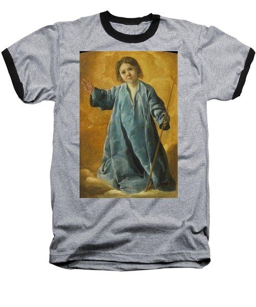 The Infant Christ Baseball T-Shirt
