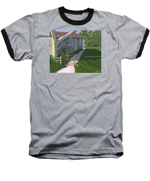 The Iron Gate Baseball T-Shirt by Gary Giacomelli