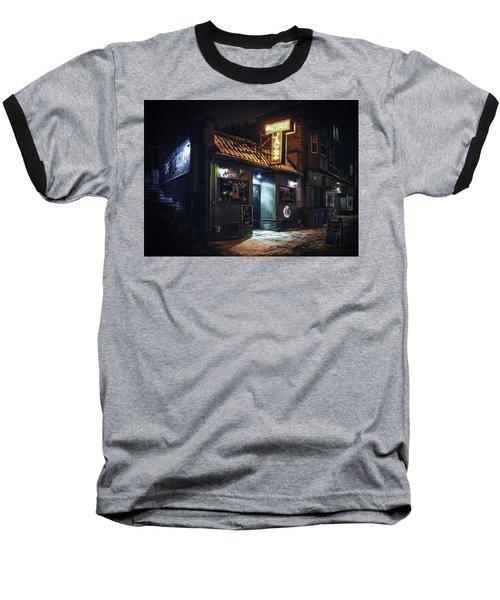 The Jazz Estate Nightclub Baseball T-Shirt