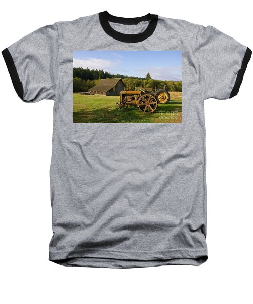 The Johnson Farm Baseball T-Shirt by Sean Griffin
