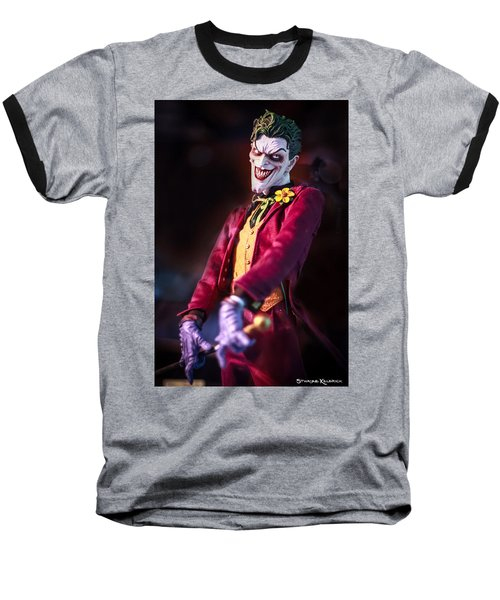 Baseball T-Shirt featuring the photograph The Joker Dummy by Stwayne Keubrick