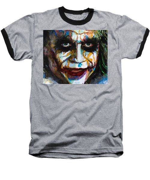 The Joker - Ledger Baseball T-Shirt