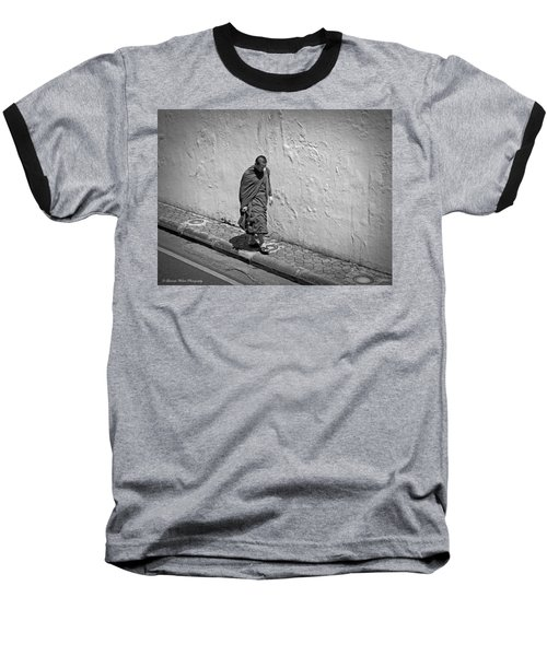 Baseball T-Shirt featuring the photograph The Journey  by Lucinda Walter