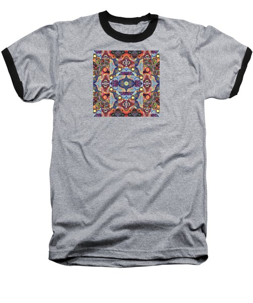 The Joy Of Design Mandala Series Puzzle 1 Arrangement 1 Baseball T-Shirt