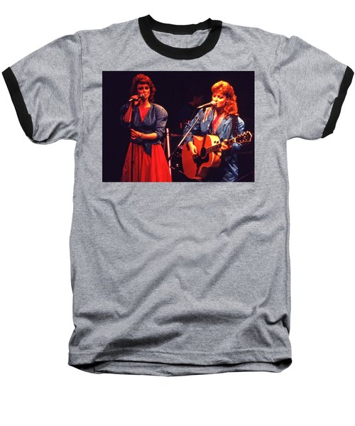 Baseball T-Shirt featuring the photograph The Judds by Mike Martin