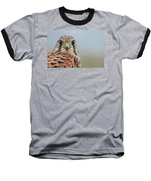 The Kestrel Face To Face Baseball T-Shirt