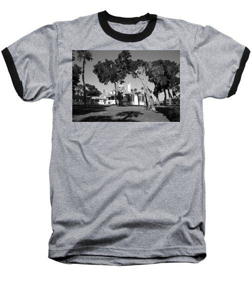 Baseball T-Shirt featuring the photograph The Kingsley Plantation by Lynn Palmer