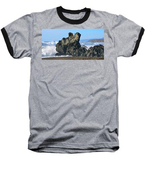 The Kissing Rocks Baseball T-Shirt
