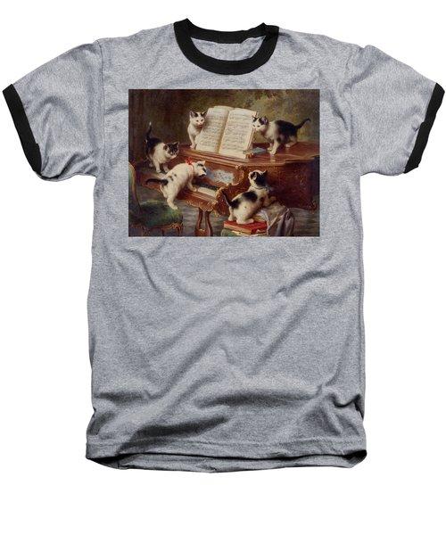 The Kittens Recital Baseball T-Shirt