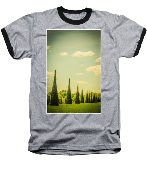 The Knot Garden's Triangular Landscaping Baseball T-Shirt