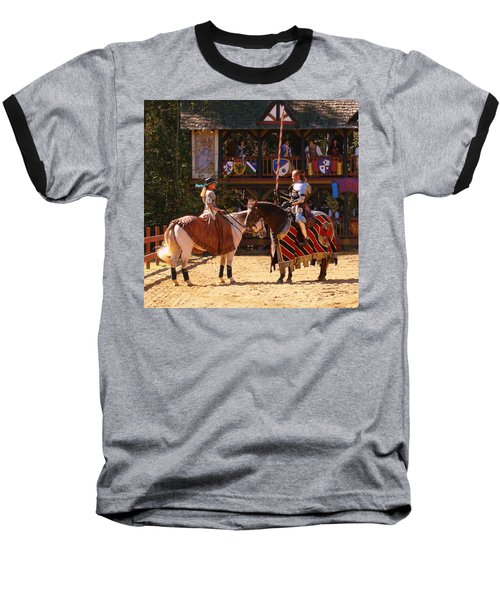 The Lady And The Knight Baseball T-Shirt