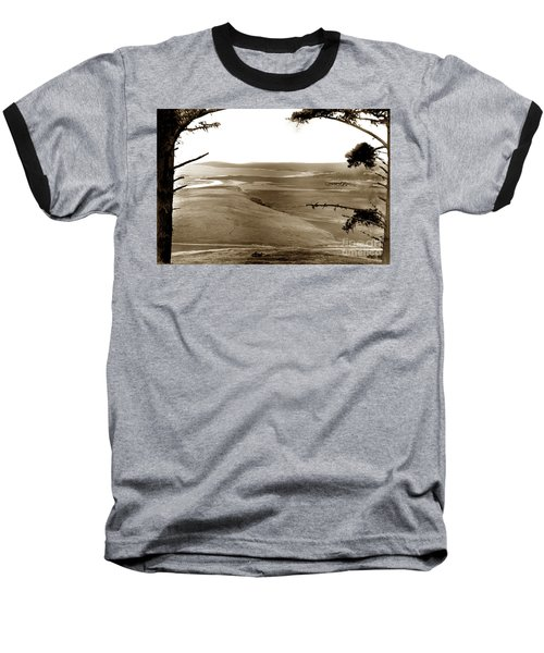 The Lagoon At The Mouth Of The Carmel River  From Fish Ranch California 1905 Baseball T-Shirt