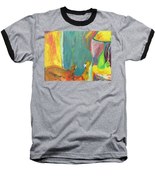 The Lamp And Bamboo Baseball T-Shirt