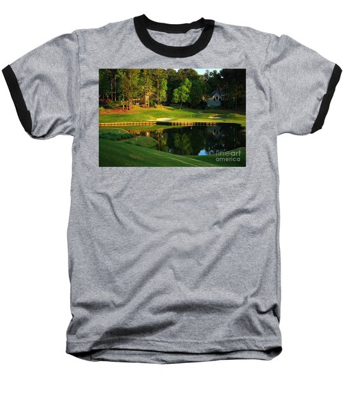 Golf At The Landing #3 In Reynolds Plantation On Lake Oconee Ga Baseball T-Shirt