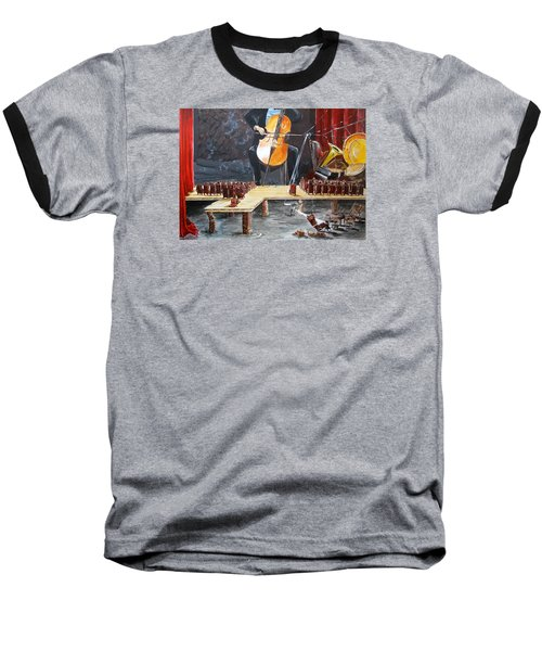 The Last Concert Listen With Music Of The Description Box Baseball T-Shirt