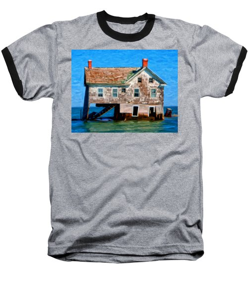 The Last House On Holland Island Baseball T-Shirt