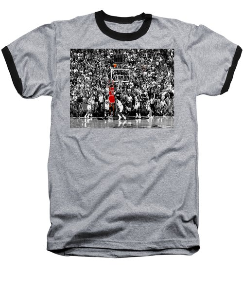 The Last Shot 1 Baseball T-Shirt by Brian Reaves