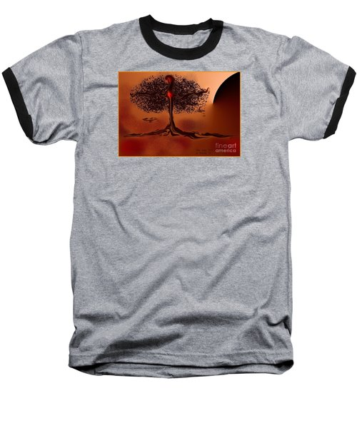 The Last Tree Baseball T-Shirt by The Art of Alice Terrill