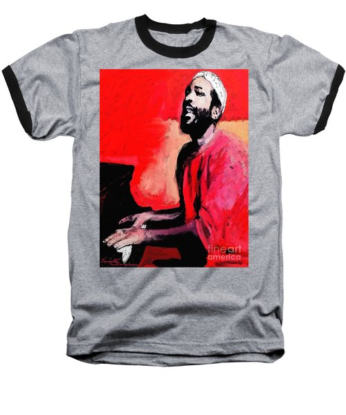 The Late Great Marvin Gaye Baseball T-Shirt