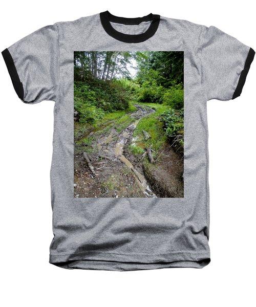 The Ledge Point Trail Baseball T-Shirt