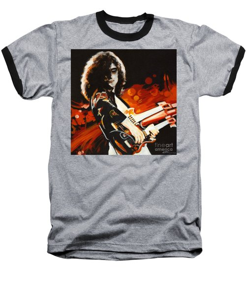 Stairway To Heaven. Jimmy Page  Baseball T-Shirt