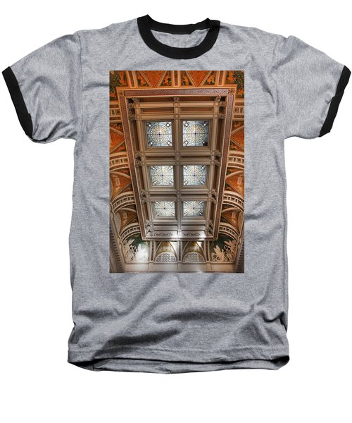 The Library Of Congress Baseball T-Shirt