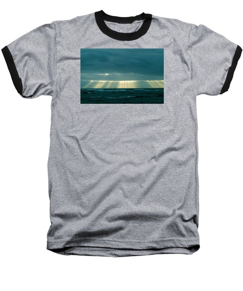 Baseball T-Shirt featuring the photograph The Light Above Kapoho by Lehua Pekelo-Stearns