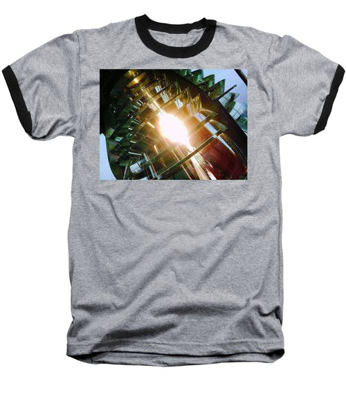 Baseball T-Shirt featuring the photograph The Light by Daniel Thompson