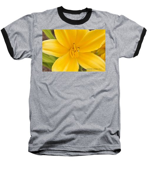 Baseball T-Shirt featuring the photograph The Lily From Kentucky by Verana Stark