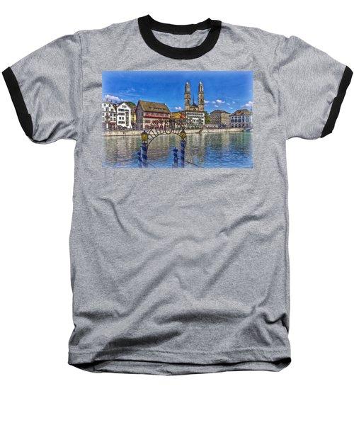 The Limmat City Baseball T-Shirt by Hanny Heim