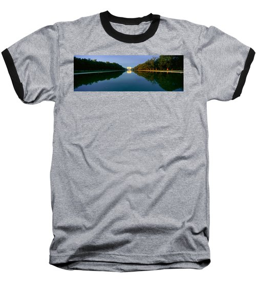 The Lincoln Memorial At Sunrise Baseball T-Shirt by Panoramic Images
