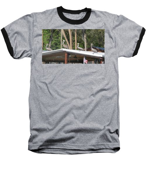 Baseball T-Shirt featuring the photograph The Lineup by Fortunate Findings Shirley Dickerson