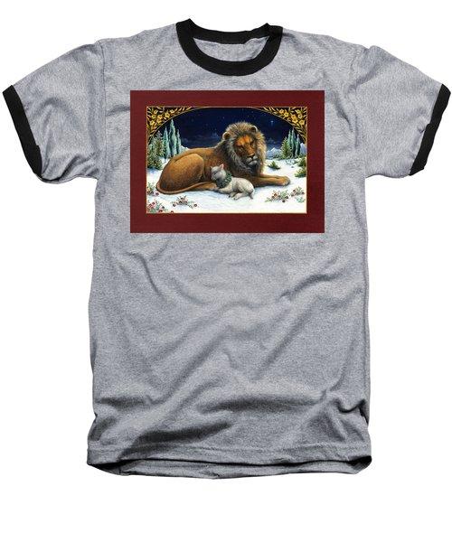 The Lion And The Lamb Baseball T-Shirt