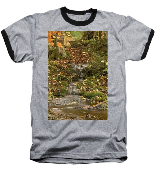 The Little Brook That Could Baseball T-Shirt