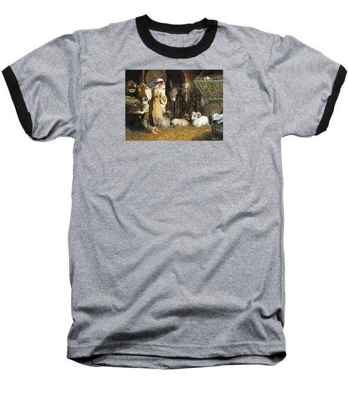 The Little Drummer Boy Baseball T-Shirt